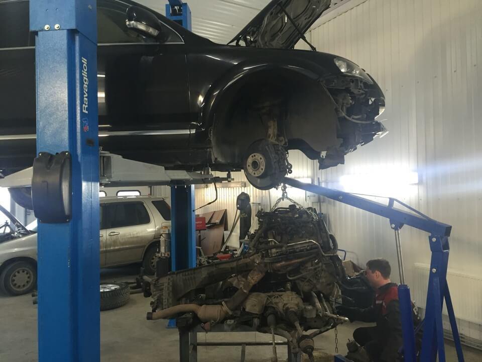 Ремонт двигателя в Техцентре MB AVTO