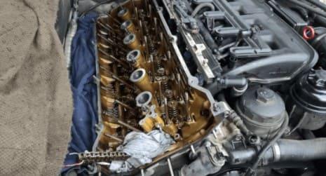 Замена маслосъмных колпачков на BMW