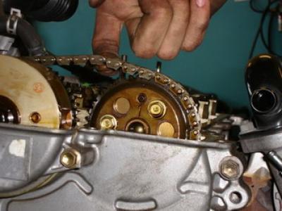 Замена цепи ГРМ на Hyundai Tucson